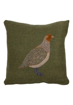 The Glenalmond Harris Tweed Sporting Cushions come complete with a zipped cover and feather filled pad. Applique Cushions, Wool Applique Patterns, Felt Applique, Sewing Pillows, Applique Quilts, Wool Pillows, Patchwork Cushion, No Sew Pillow Covers, Cushions To Make