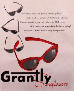 5e401ae9d2 Sunglasses 20th Century Fashion