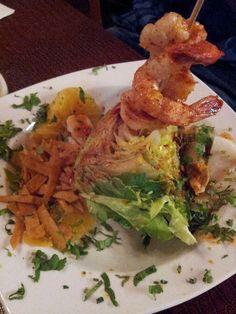 El Nuevo Rodeo Restaurant - House citrus salad with jicama and shrimp, Ensalada de jicama con camarones - Minneapolis, MN, United States