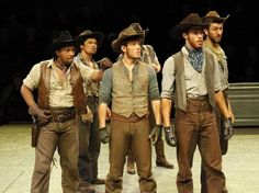 "Members of the cast of the Arena Stage at teh Mead Center for American Theater production of Rodgers and Hammerstein's ""Oklahoma!"" (Photo by Suzanne Blue Star Boy)"