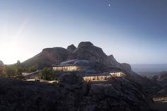 Villas, Costa Rica, Brutalist Buildings, Desert Mountains, Light Pollution, Resort Villa, Hotel Guest, Mountain Resort, Hotel Suites