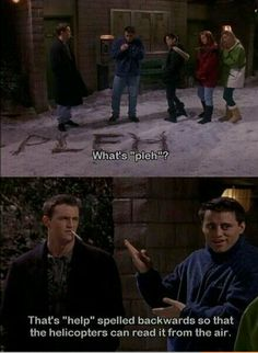 """I hate everything """"Friends"""" stands for but it's still funny"""