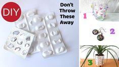 3 Empty Medicine Wrapper Crafts | DIY Medicine Stripes Recycle Ideas | E...