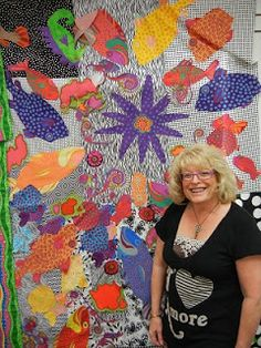 There is nothing like a new adventure with my dear friend Sue to rejuvenate my creative soul! Contemporary Quilts, My Dear Friend, New Adventures, Embroidery Applique, Quilting, Creative, Crafts, Modern, Manualidades