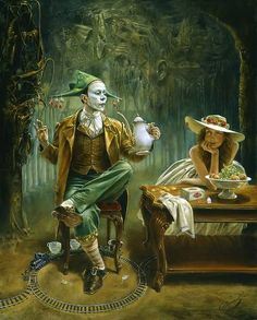 Michael Cheval surrealismo