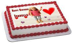 American Girl 1 Edible Birthday Cake Topper OR Cupcake Topper, Decor