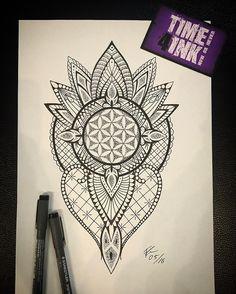 Fresh WTFDotworkTattoo Find Fresh from the Web Flower of Life #blackwork…