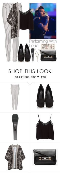"""""""Performing with Louis"""" by lovatic92 ❤ liked on Polyvore featuring Topshop, Carvela Kurt Geiger, MANGO, H&M, Proenza Schouler and BCBGeneration"""