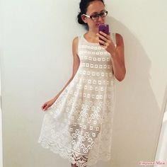 Филейное платье Увидела в сети это платье и просто влюбилась в него. Набросала схемку от руки. На 44 размер нужно будет примерно 4 мотка хлопка метражом 100 г-450 м и крючок №2.5.