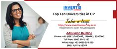 Invertis University is a leading Private University in India offering a wide range of courses in Engineering & Technology, Computer Science, Management Courses, Pharmacy, Law, Architecture, Journalism and Mass Communication, Humanities and Applied Science.