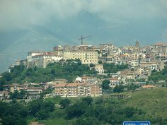 Minturno, City on a Hill by Kurlylox1, via Flickr