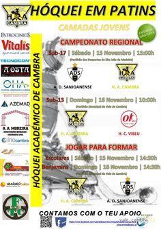 Hóquei em patins: Camadas jovens HAC > 15 e 16 Nov 2014  #ValeDeCambra #HoqueiPatins