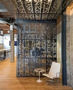 Artistically perforated panels