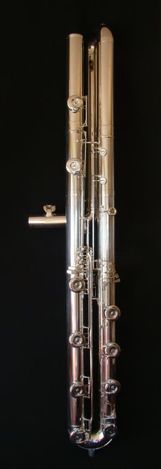 Hogenhuis subcontrabass flute in C  Man! If I could get my hands on one of these..