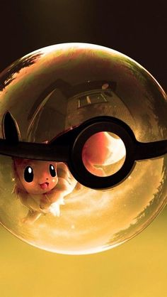 Eevee in pokeball. Check out Pokemon cute Pokeball iPhone wallpapers. Pokemon Fusion, Gif Pokemon, Pikachu Art, Pokemon Eeveelutions, Eevee Evolutions, Charizard, Eevee Wallpaper, Cute Pokemon Wallpaper, Mobile Wallpaper
