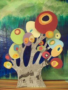 Collage by Wassily Kandinsky