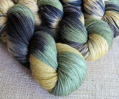 Loki  Superwash Merino & Nylon Sock Fingering Yarn  by GnomeAcres, $20.00