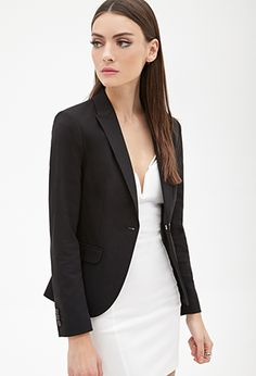 Black Blazer For Women With Dress
