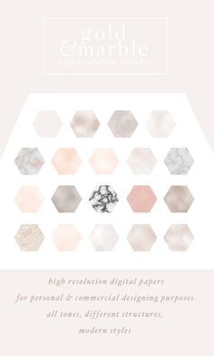 50 luxury gold & marble textures by Laras Wonderland on @creativemarket