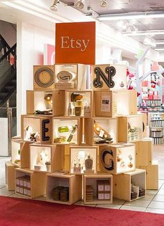 Pop up shop displays