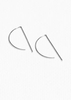 Other Stories   Minimalistic Graphic Hoop Earrings Thin Hoop Earrings,  Jewelry Trends, Minimalist 5e9ef7742b