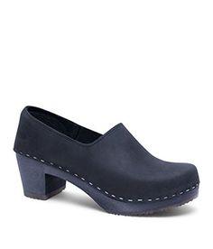 af13e87154 Only 3 Days Left Sandgrens Swedish High Heel Wooden Clogs for Women