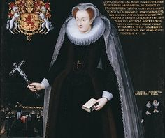 ELIZABETH CURLE (c.1560-May 29, 1620)Elizabeth Curle was the sister of Gilbert Curle, secretary to Mary Queen of Scots during her imprisonment in England. Elizabeth was also a member of that household and was with Mary on the scaffold at her execution. Mary left her 2000 francs. After the execution, Mary's ladies were held at Fotheringay until July 30, when they were taken to Peterborough Cathedral for Mary's funeral. It was September before they were allowed to leave England.