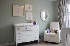 Calmly Chaotic: Isla & Alice's Room Teresa's Green Farrow and ball