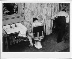 La toilette dans un hôtel de passe [brothel], rue Quincampoix,1932.    Brassaï, aka Halasz Gyula (1899-1984)
