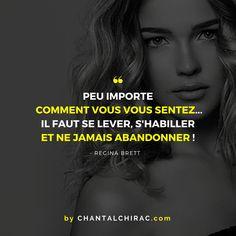 La Vie n'est pas Toujours Douce envers Nous. Mais Elle nous apprend à Nous Relever et à Toujours Nous Dépasser. Soyons Optimiste. #citation #bonheur #développementpersonnel #réussite #chantalchirac