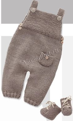Overalls and ankle boots for children, knitting needles . : Jumpsuit and boots for children, knitting needles …, For Children Stiefeletten Stricknadeln and ankle boots children Knitting Needles Overalls Baby Pants Pattern, Baby Boy Knitting Patterns, Knitting For Kids, Baby Patterns, Free Knitting, Crochet Baby Pants, Knitted Baby Clothes, Boy Crochet, Kid Outfits