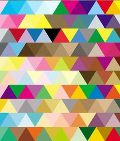 Colorful Triangle print Tribal print Tribal printable от hedehede