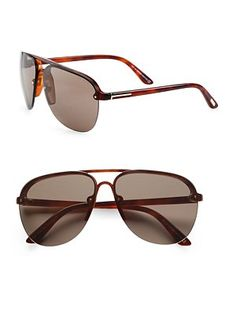 Tom Ford Eyewear Wilder Aviator Sunglasses