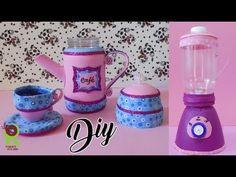 DIY BRINQUEDO: Liquidificador e Jogo de chá de Pet Ft. Poly gonçalves
