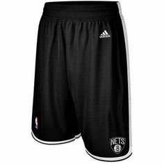 adidas Brooklyn Nets Swingman Shorts - Black