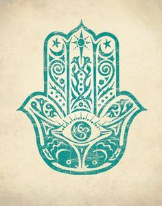Hamsa hand is an amulet that helps banish evil or any negative energy. It brings happiness, luck and good fortune to its owner. Hamsa Tattoo Design, Hamsa Hand Tattoo, Hamsa Art, Hamsa Design, Tattoo Designs, R Tattoo, Body Art Tattoos, Tatoos, Marquesan Tattoos