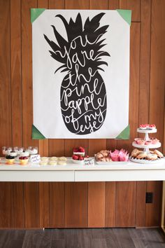 The Alison Show: Moms Rule: Mother's Day Brunch pineapple printable