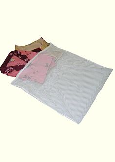 Keep your intimates looking their best with the Lingerie Wash Bag. http://www.juliannarae.com/products/large_lingerie_wash_bag.htm
