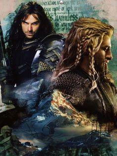 The hobbit fili and kili sons of durin
