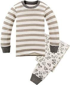 Children Pajamas Striped Cotton Clothing For Boys Set Size 2T-7, http://www.amazon.com/dp/B01BWBOR72/ref=cm_sw_r_pi_awdm_x_FLk1xbGNP3PTM Size 5t