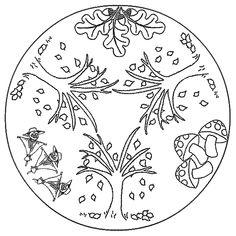 food coloring mandalas | Coloring Page - Mandala coloring pages 10