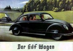 early VW advertising