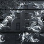 Li-Hill's Large-Scale Murals Resemble Ghostly Projections of Angels, Birds, and Foxes