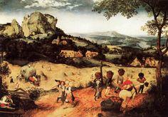 Pieter Bruegel the Elder - Haymaking (1565)