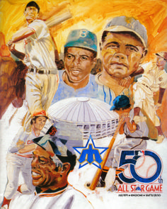The 1979 MLB All-Star Game program. #Mariners