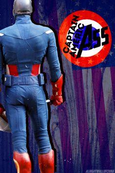 Avengers butts iPhone/iPod wallpaper