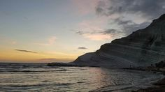 Turkish Steps sunset Sicily