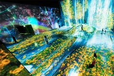 World's Biggest Interactive Digital Art Museum Opens in Japan | Hi-Fructose Magazine