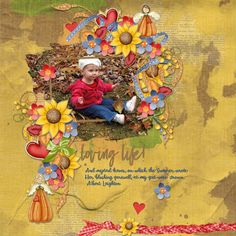 Autumn Angels Bundle from Kathryn Estry. http://www.pickleberrypop.com/shop/product.php?productid=53085&page=1  Template  Heartstrings Scrap Art