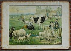 in the meadow (Cornelis Jetses) Dutch Artists, Caricature, Holland, The Past, Memories, History, Vintage, Posters, Artwork